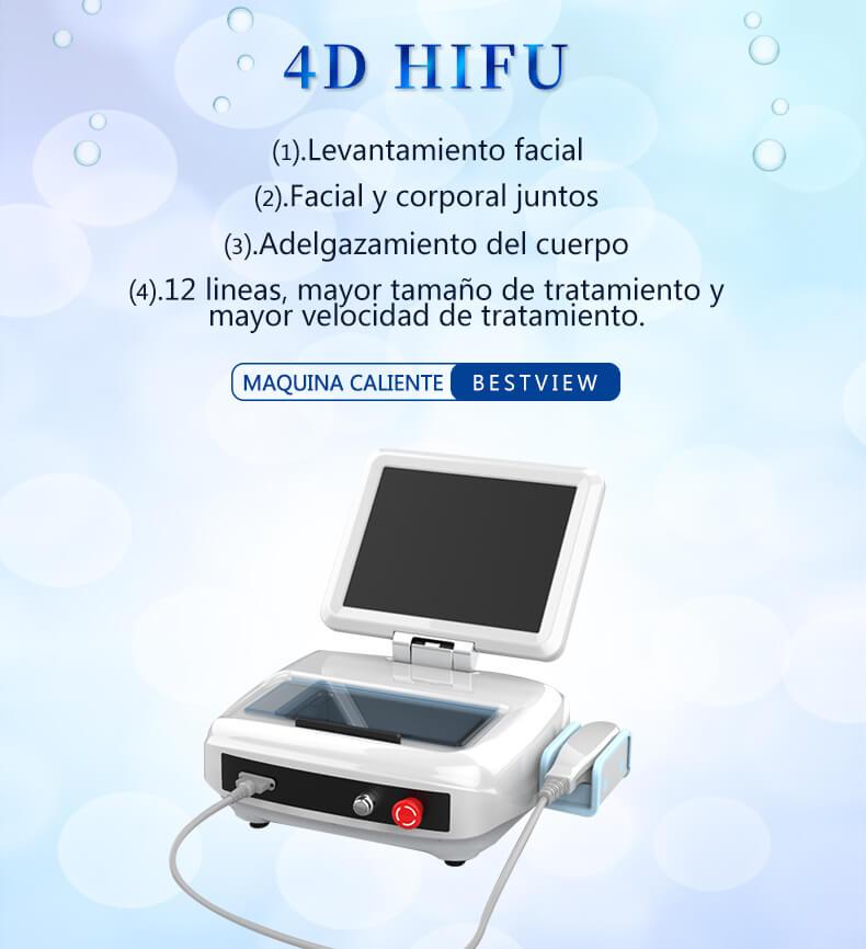 4D HIFU ultrasonido