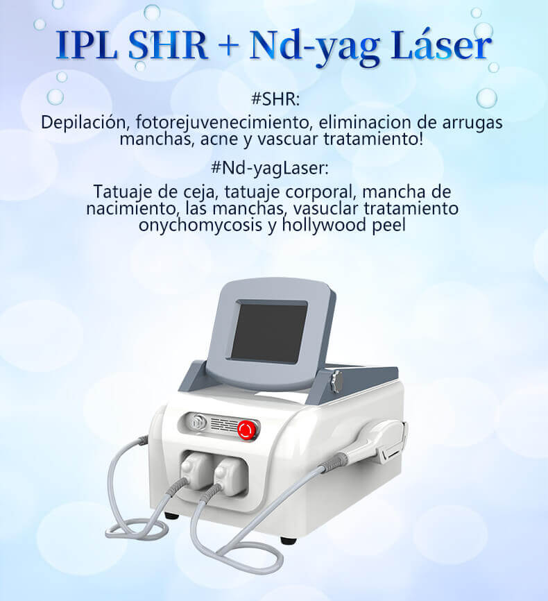 Máquina de IPL + SHR + Laser