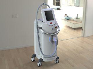 máquina diodo láser depilación