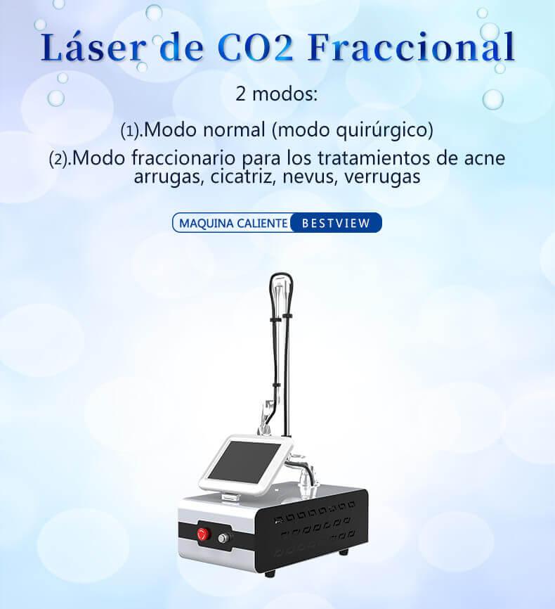 Máquina de Láser CO2 Fraccionado