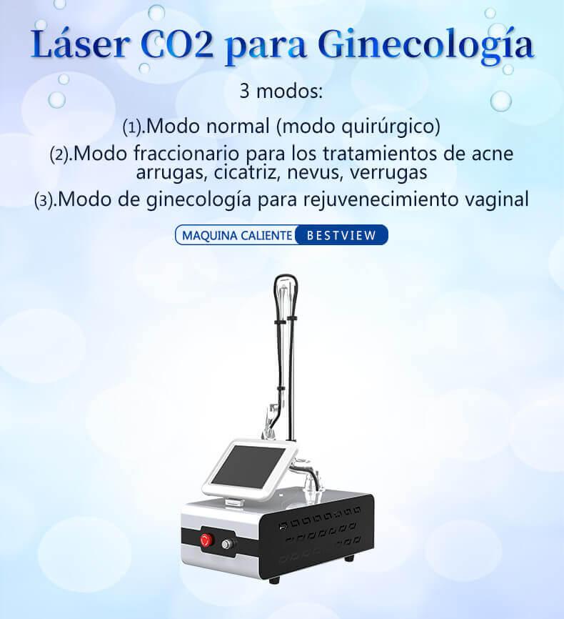 CO2 Fraccional machine
